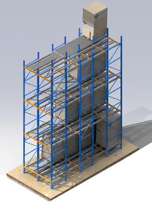 Sistema de almacenamiento dinamico