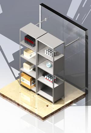 sistema de almacenamiento estanteria